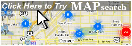 map search441 Welcome to your source for Denvers Finest Homes!